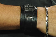 Wilmer Valderrama Leather Bracelet