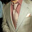 Wilmer Valderrama Accessories - Striped Tie