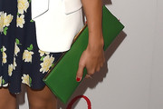 Rashida Jones Leather Clutch