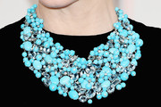 Cate Blanchett Turquoise Necklace
