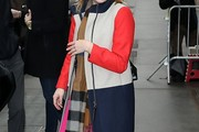 Elisabeth Moss Wool Coat