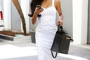 Naya Rivera Corset Dress