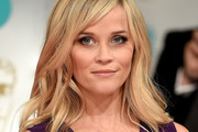 Reese Witherspoon Medium Wavy Cut with Bangs