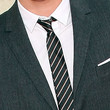 Zac Efron Accessories - Striped Tie