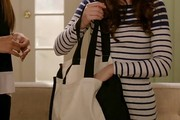 Zooey Deschanel Canvas Tote