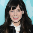 Zooey Deschanel Hair - Long Straight Cut with Bangs