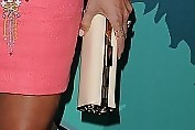 Stacy Keibler Tube Clutch