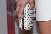 Ashley Greene Studded Clutch