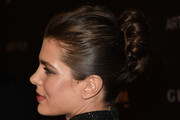 Charlotte Casiraghi Twisted Bun