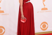 Morena Baccarin Maternity Dress