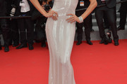 Izabel Goulart Beaded Dress