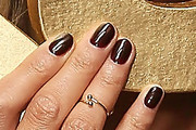 Chrissy Teigen Dark Nail Polish