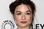 Crystal Reed Braided Updo