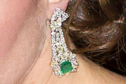 Kate Middleton Gemstone Chandelier Earrings