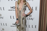 Jaime King Beaded Dress