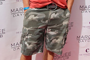 Mark Salling Cargo Shorts