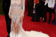 Kim Kardashian Beaded Dress