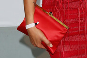 Bianca Balti Satin Clutch