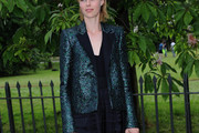 Edie Campbell Sequined Jacket