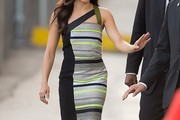 Jenna Dewan-Tatum Print Dress