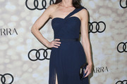 Perrey Reeves One Shoulder Dress