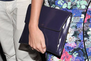 Christa B. Allen Patent Leather Clutch