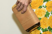 Kate Hudson Leather Clutch
