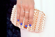 Emily Osment Beaded Clutch