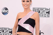 Heidi Klum One-Shoulder Top