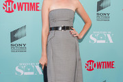 Caitlin Fitzgerald Strapless Dress