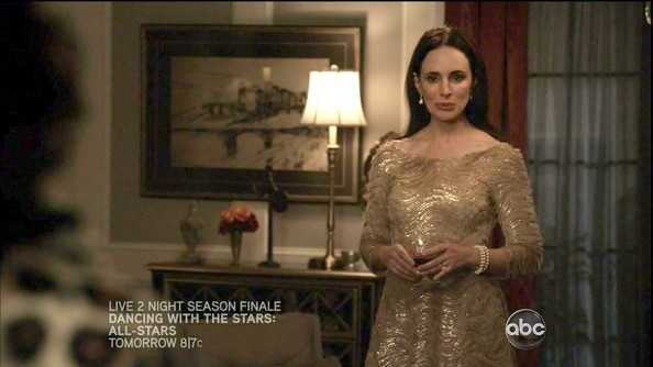 More Pics of Madeleine Stowe Evening Dress (1 of 14) - Madeleine Stowe Lookbook - StyleBistro