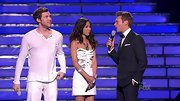 Jessica Sanchez hit the 'AI' finals in style rocking an embellished white mini dress.