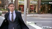 Chace Crawford sure knows how to layer like a pro! Check out this handsome suit and coat set.