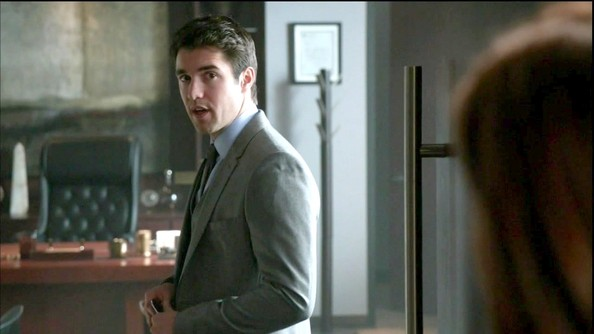 More Pics of Josh Bowman Men's Suit (1 of 2) - Revenge Lookbook - StyleBistro