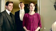 Michelle Dockery looked lady-like in 'Downton Abbey' with a multi-bead necklace.