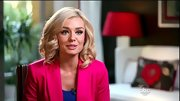 There was no missing the neon pink blazer Katherine Jenkins wore on 'DWTS'