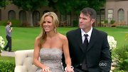 Trista Sutter looked rather bridal herself at Ashley Hebert's wedding in a silver lace dress.