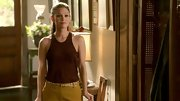 Rachel Bilson can color-block with the best of them, as evidenced by the sporty maroon tank she paired with mustard slacks on 'Hart of Dixie.'