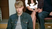 Chord Overstreet proved denim jackets aren't just for men in the '80s with this look.