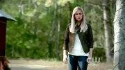 You don't want to mess with Claire Holt, especially when she's wearing her tough, yet sexy olive leather jacket.