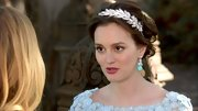 For her big day, Leighton Meester stayed true to character Blair Waldorf's favorite accessory with this gorgeous wreath-like Arielle headband.