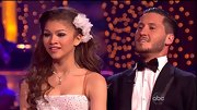 Zendaya got all dolled up for her prom-inspired routine on Dancing With The Stars.