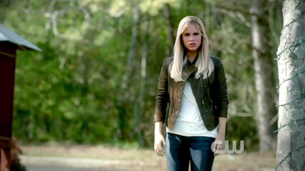 Claire Holt Leather Jacket