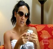 Melissa Gorga may not wear her sunglasses at night, but she does wear them inside on 'The Real Housewives of New Jersey.'