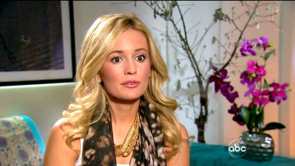 Emily Maynard Gold Statement Necklace