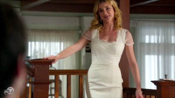Emily VanCamp Cocktail Dress