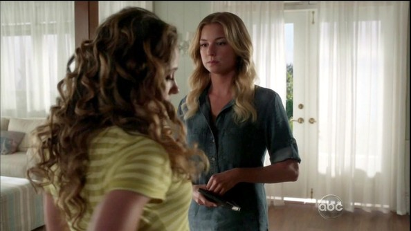 Emily VanCamp Denim Shirt