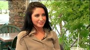 Bristol Palin kicked back between rehearsals in a faded chambray top.