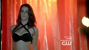 Jessica Lowndes turned into a seductress on '90210' in a sexy halter bra.