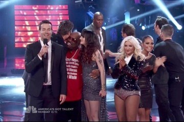 Christina Aguilera Cee-Lo Green The Voice Season 2 Episode 21